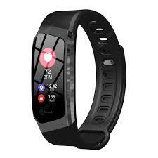 <b>E18</b> Smart <b>Sports</b> Wristband Blood Pressure Heart Rate <b>Monitor</b> ...