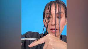 how to cut your own hair at home video
