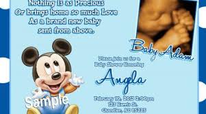 Free Printable Baby Mickey Mouse Invitations Free Printable Baby Mickey Mouse Invitations Omg Invitation