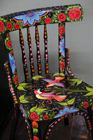 Designs For Painting On Chairs  Google Search  HOME SWEET HOME Hand Painted Benches