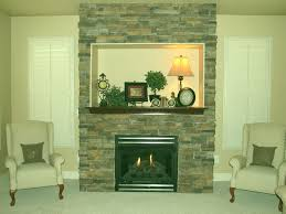 contemporary gas fireplace inserts with white mantel ideas black decorations attractive decorating fusion stone modern