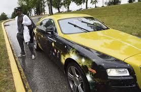 Steelers Wr Brown Arrives At Training Camp In Custom Rolls Royce