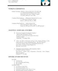 Writing A Resume With No Work Experience Blaisewashere Com