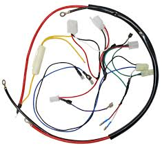 engine wiring harness for gy6 150cc engine 05711a bmi karts and quick view