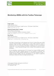 Light And Optics Faulkes Telescope Project Pdf Monitoring Lmxbs With The Faulkes Telescope