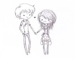 cute anime love chibi drawing. Drawings Of Couples Chibi Couple By Silversoma On DeviantART For Cute Anime Love Drawing