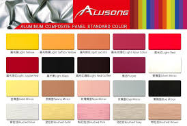 Acp Colour Chart China Marble Acp Aluminum Composite Panel Suppliers And