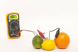 Fruit And Vegetable Acidity Chart How To Make A Fruit Battery