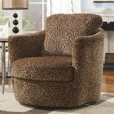 Small Swivel Chairs For Living Room Furniture Elegant Armchair Design With Comfortable Swivel Accent