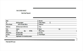 Blank Fax Cover Sheet Request Template For Medical Records ...