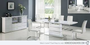 white dining sets modern white dining table61