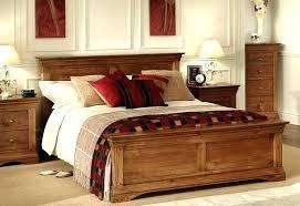 King Size Bed Frame Wood Wooden King Platform Bed Solid Wood King ...