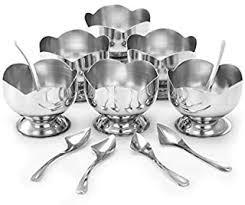 Dessert Bowls - Stainless Steel / Dessert Bowls ... - Amazon.com