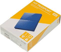 Купить <b>Внешний</b> жесткий диск Western Digital <b>My</b> Passport 1 ТБ ...