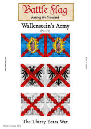 wargame flags of wallenstein s imperial army of the thirty years  wargame flags of wallenstein s imperial army of the thirty years war