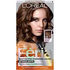 Feria Loreal Color Chart Loreal Paris Feria Haircolor Bronzed Brown 51