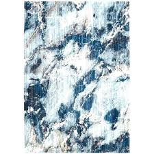 contemporary area rugs blue and brown wool rug modern abstract polyester ivory grey royal