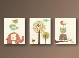 Nursery wall art nursery art baby nursery kids room decor owl