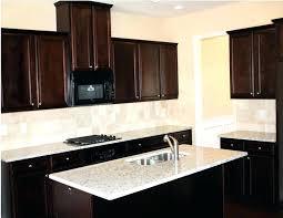 Kitchen backsplash glass tile dark cabinets Grey White Tile Dark Cabinets Tiles For Glass Captivating Kitchen Pcworldshoppingcom Tiles For Dark Cabinets Kitchen With Excellent Glass Tile White