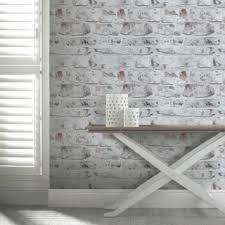 wallpaper for home office. arthouse vip white washed brick wallpaper 671100 for home office h