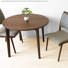 90cm in width walnut materials walnut tree wooden round table circle table dining table sarasa dt90 chair separate net limited original