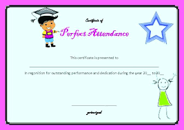 School Attendance Certificate Format For Students Pdf Samples ...