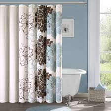 brown and blue bathroom accessories. Appealing Accessories For Window Decoration Using Black And White Curtain : Divine Image Of Bathroom Brown Blue B