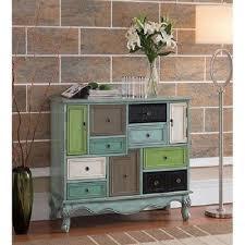 drawer cabinet doors storage modern vintage decor accent multi color furniture 9511bfc638d5ef ad600d f