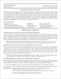 Physician Assistant Resume Template Beauteous Sample Physician Assistant Resume Example Resume Format Physician