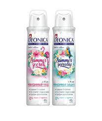 Женские <b>дезодоранты Deonica</b> (Деоника) - <b>Pro защита</b> ...