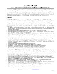 engineering technician resume engineering technician resume 155