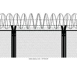 barbed wire fence transparent. Exellent Wire Fence Transparent Barbed Wire Top  Wall Stock Photos In Barbed Wire Fence Transparent W
