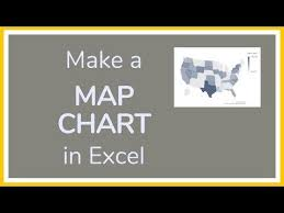 How To Make A Map Chart In Excel Tutorial