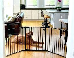 outdoor dog gate metal pet inch indoor black gates for stairs image of australia