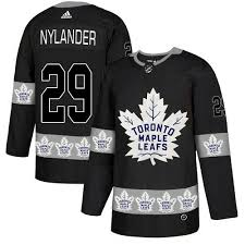 Nylander Black Jersey Jersey William Leafs Authentic Men's