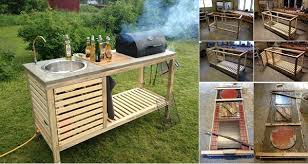 Marvelous DIY Idea: Make Your Own Portable Outdoor Kitchen Amazing Design