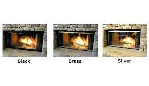 fire place glass door fireplace enclosures fireplace insert glass door cleaning
