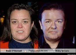 Rosie odonnell, Ricky gervais ...