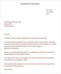 Formal Resignation Letter - 15+ Free Word, Pdf Documents Download ...