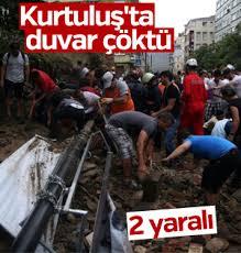 İstanbul'da şiddetli fırtına