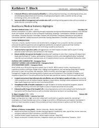 Management Resume Sample Healthcare Industry Business Resume Peppapp