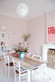 paint color portfolio pale pink dining