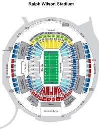 Eye Catching Ralph Wilson Stadium Seating Chart Virtual