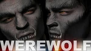 werewolf makeup tutorial alex faction