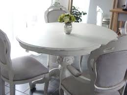 shabby chic dining sets. Shabby Chic Round Dining Table Gorgeous French Style Only Painted Sets I