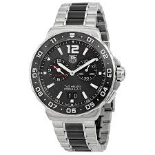 tag heuer formula 1 luxury watches finder online store tag heuer formula 1 anthracite dial chronograph steel and ceramic mens watch wau111c ba0869