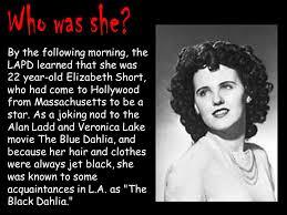 「1947 black dahlia incident」の画像検索結果