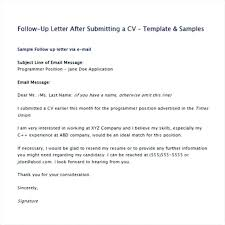 Follow Up Email After Sending Resume Examples Submitting Resume By Email Hotwiresite Com