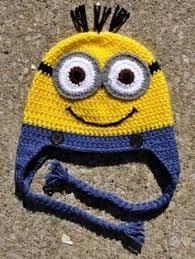Minion Hat Crochet Pattern New Minion Hat Free Crochet Pattern Crafts Pinterest Minion Hats