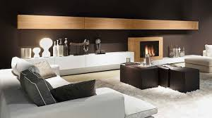 Small Picture Wall Unit with Fireplace Presotto Italy Modern Living Room